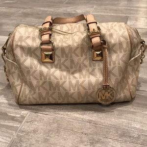 Michael Kors Grayson Monogram Satchel